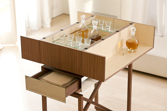 T. Colzani Nando Drinks Cabinet