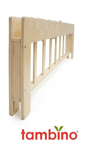 Tambino Alpha-bookshelf Bed Rail™