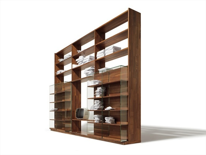 team 7 cubus bookcase. Black Bedroom Furniture Sets. Home Design Ideas