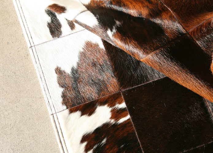 The Pure Team Park Corbu Cowhide Rug