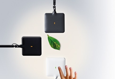 Toan Nguyen and Antonio Citterio Kelvin Led Green Mode Lamp