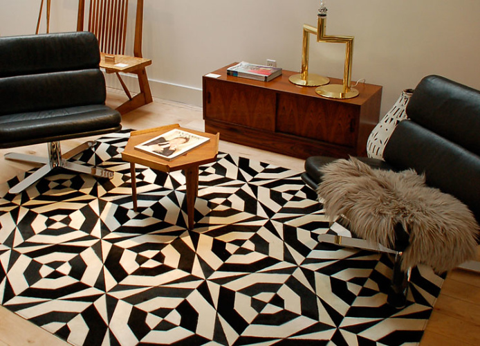 Tofer Chin No. 1 Cowhide Rug
