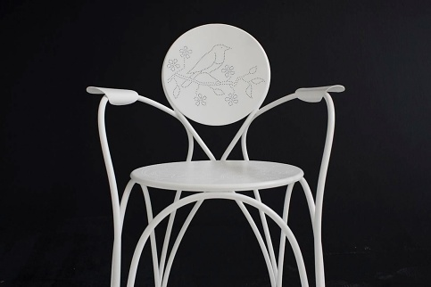 Tord Boontje Rain Chair and Rain Table