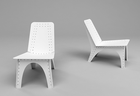 Tord Boontje Stitched Easy Chair And Table