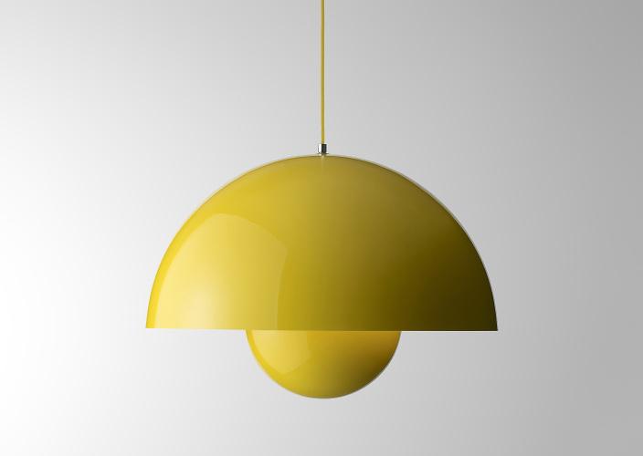 verner panton flowerpot lamp. Black Bedroom Furniture Sets. Home Design Ideas