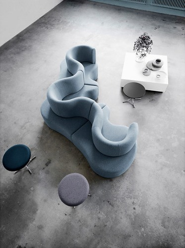 Verner Panton Panton Low Lounge Table