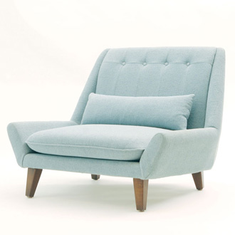 Vioski Palms Chair And Ottoman