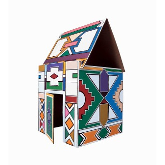 Vittorio Locatelli Ndebele Small House