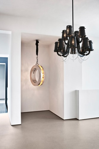 William Brand and Annet van Egmond Diamonds From Amsterdam Lamp Collection