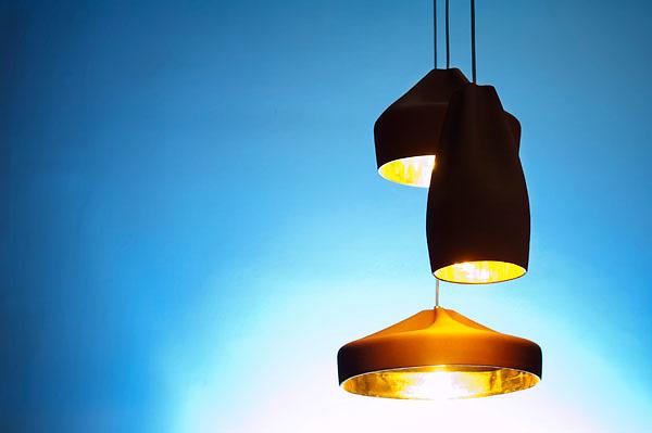 Xavier Mañosa and Mashallah Pleat Box Lamp