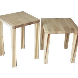 Xbritt Moebel Pleatfront&Bellbottoms Table