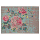 Charlotte Lancelot Canevas Flower Rug