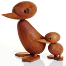 Hans B&oslash;lling Duck And Duckling Figures