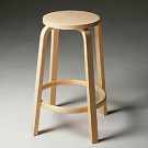 Alvar Aalto High Stool 64