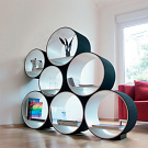 Doris Kisskalt FlexiTube Modular Shelving