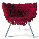 Fernando and Humberto Campana Vermelha Armchair