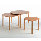 J&oslash;rgen M&oslash;ller Round Nesting Tables