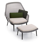 Ronan & Erwan Bourellec Slow Chair and Ottoman