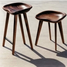 Scott Fellows and Craig Bassam Tractor Stools
