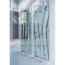 Paolo Icaro Chissotti Deco 1 and Deco 2 Glass Partition
