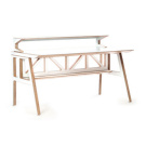 Scott Klinker Library Desk & Desk Shelf